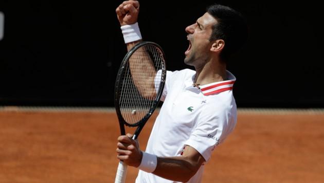 Novak Djokovic (Bild: Copyright 2021 The Associated Press. All rights reserved.)