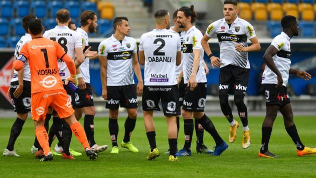 Altachs Kicker erlebten in der abgelaufenen Bundesliga-Saison nicht nur Sternstunden. (Bild: GEPA )