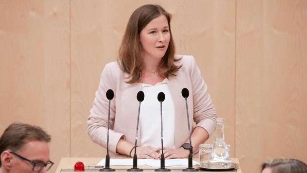 Claudia Plakolm im Nationalrat (Bild: Parlamentsdirektion/Thomas Topf)