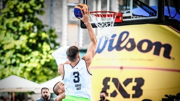 """Die Korbjäger """"fliegen"""" auf Graz (Bild: FIBA)"""