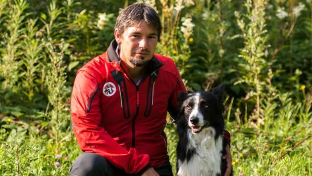 Ausbildungsleiter Clemens Haring (Bild: Lawinenhundestaffel Salzburg)