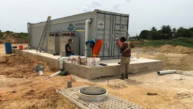 Die Wastewater Solutions Group realisiert mobile und stationäre Abwasserreinigungsanlagen. (Bild: Wastewater Solutions)