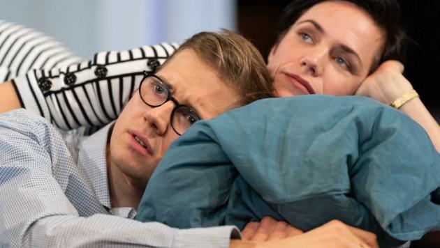 Markus Ransmayr und Gunda Schanderer als Elternpaar (Bild: Petra Moser)