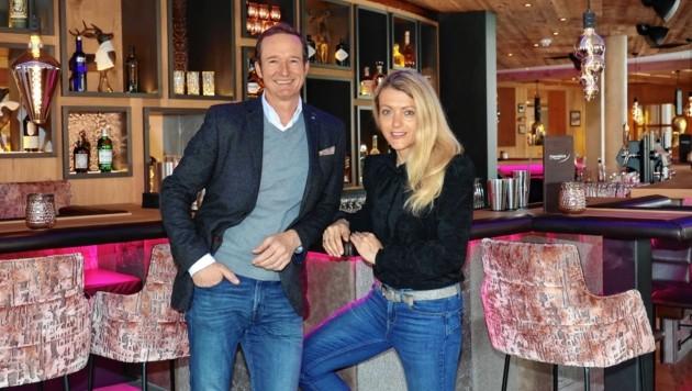 Hotelier-Paar Georg und Christine Segl aus Zell am See (Bild: Roland Hoelzl)