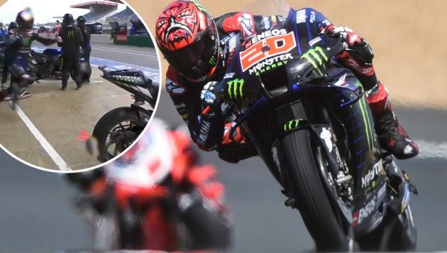 Fabio Quartararo (Bild: APA/AFP/JEAN-FRANCOIS MONIER, twitter.com/MotoGP)