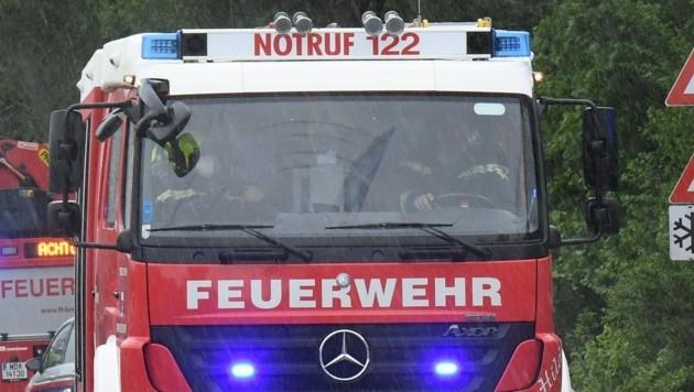 Weil der Feueralarm losging, fuhren die Florianis zum Schloss Ottenschlag. Dort erwartete sie aber kein Brand... (Symbolbild) (Bild: P. Huber)