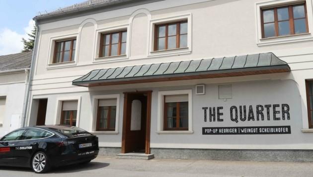 """Ab Frühsommer wird """"The Quarter"""" wieder im alten Dorfwirtshaus zuhause sein. (Bild: Judt Reinhard)"""