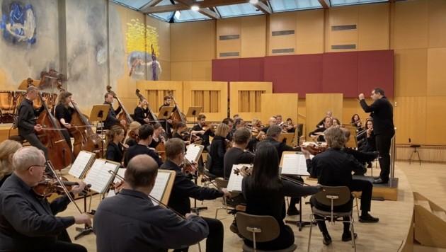 Konzert des Mozarteumorchesters (Bild: Leo Hussain)