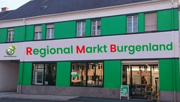 Noch im Juni soll der erste Regionalmarkt Burgenland in der Wiener Straße 31 in Oberwart aufsperren. (Bild: Benjamin Flassig)