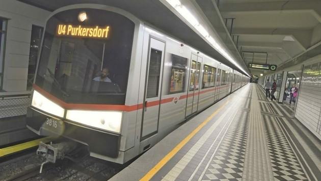 Die U-Bahn-Verlängerung ins Umland will die FP morgen mittels Grundsatzbeschluss im Landtag erwirken. (Bild: Johannes Zinner, Fotomontage: Krone Kreativ)