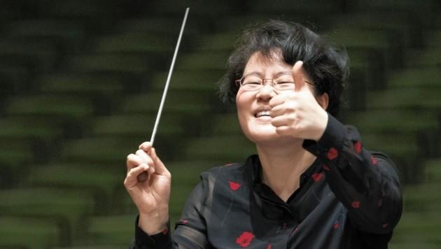 Neue Chefdirigentin des recreation-Orchesters in Graz (Bild: Werner Kmetitsch)
