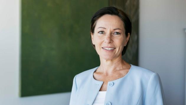 Landesrätin Martina Rüscher hofft auf eine baldige Umsetzung der täglichen Turnstunde. (Bild: Mathis Fotografie)