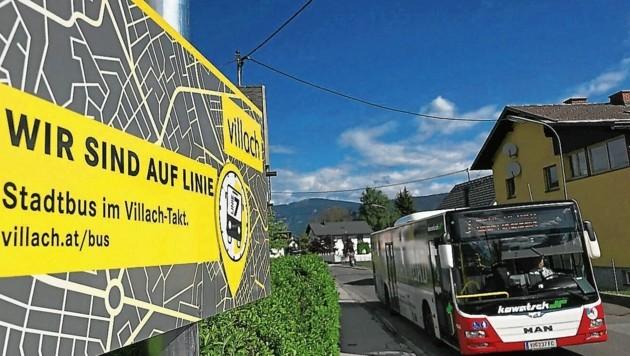 Villach-Auen: Anrainer regen sich über den Buslärm auf (Bild: (C) Thomas Hude)