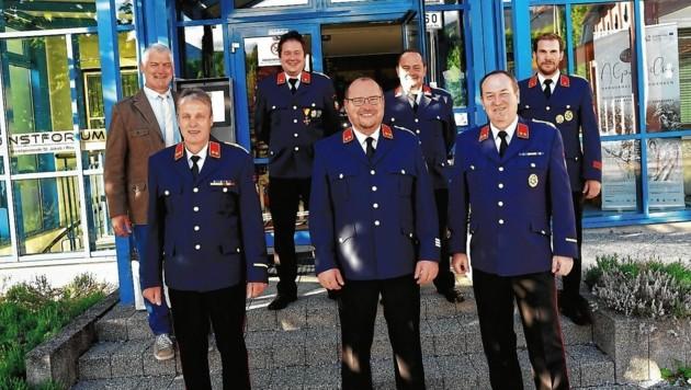Die Feuerwehrleute in St. Jakob im Rosental haben ihre Kommandanten gewählt (Bild: SOBE HERMANN)