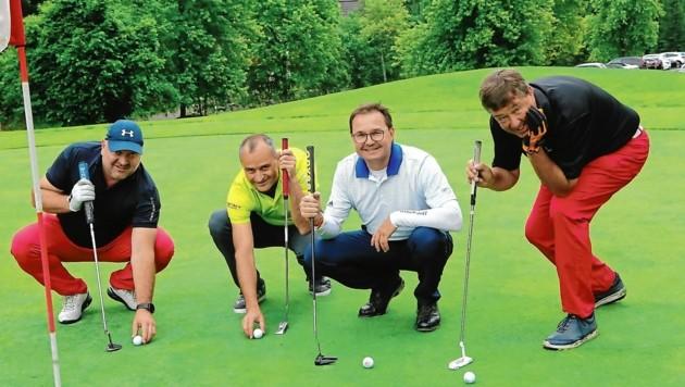 """Im Vorjahr startete die """"Krone"""" Business-Turnierserie in der Golfarena Bad Kleinkirchheim (Bild: Wofgang Vaschauner)"""