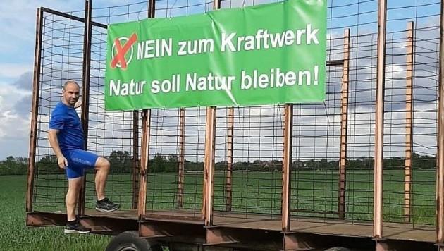 In Biedermannsdorf bekämpft unter anderem die FP unter der Ägide von Christoph Luisser das Projekt. (Bild: Huber Patrick)