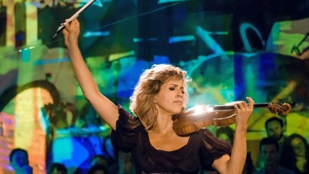 """Mozartwochen-Debüt der """"Königin der Geige"""": Anne-Sophie Mutter (Bild: DG/Stefan Höderath)"""