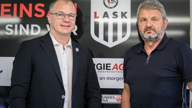 Siegmund Gruber (li.) und Jürgen Werner (Bild: GEPA )