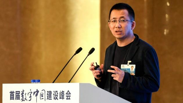 Zhang Yiming (Bild: AFP)