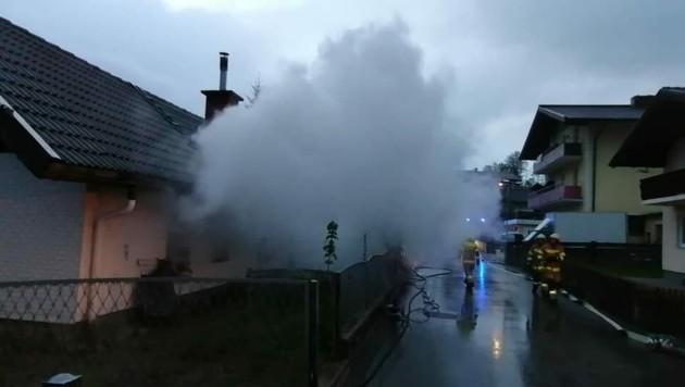 Die Feuerwehr konnte den Brand löschen (Bild: FF Bruck)