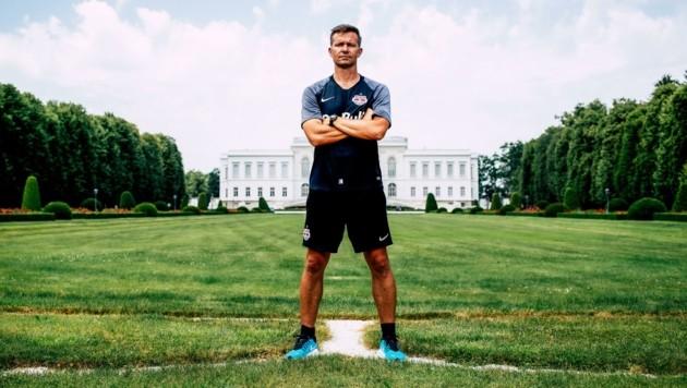 Jesse Marsch war zwei Jahre als Trainer in Salzburg tätig und kehrt im Sommer nach Leipzig zurück. (Bild: Tröster Andreas)