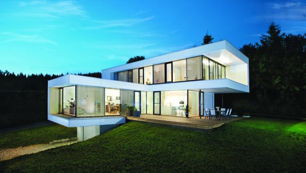 Dieses ausgezeichnete Haus steht nahe des Klopeiner Sees. (Bild: GRIFFNER)