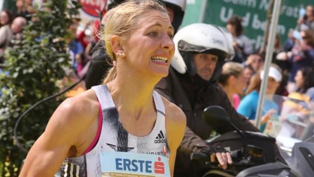 Eva Wutti will beim S 7-Marathon bei Fürstenfeld das Tokio-Ticket abholen (Bild: Bissuti Kristian)