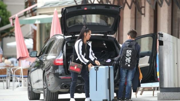 Die Urlauber sind nach dem Lockdown zurück in Salzburg (Bild: Tröster Andreas)