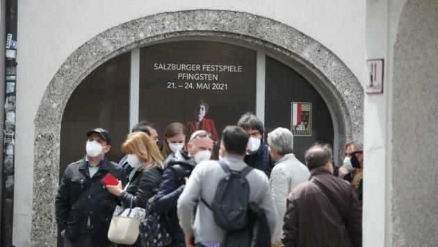 Die Pfingstfestspiele locken Touristen in die Stadt (Bild: Tröster Andreas)