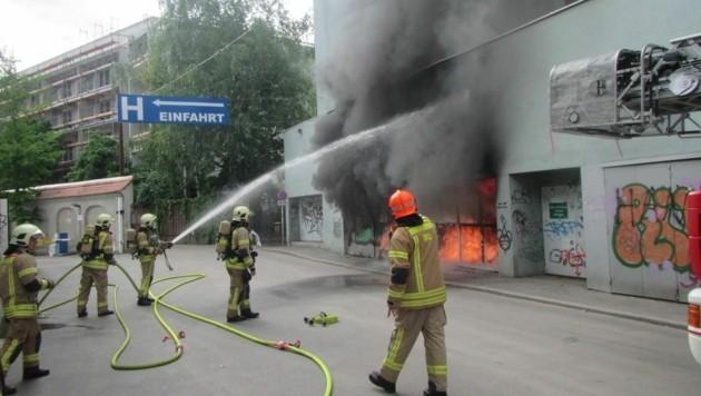(Bild: Berufsfeuerwehr Graz)