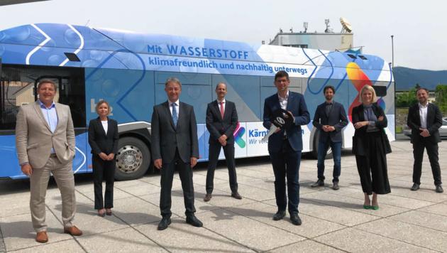 Infineon will mit der Produktion von grünem Wasserstoff voraussichtlich Anfang 2022 starten. (Bild: Peter Kleinrath)