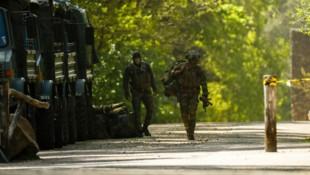 Die belgische Armee hatte zuvor mit einem Großaufgebot erfolglos nach Jürgen Conings gesucht. (Bild: AP)