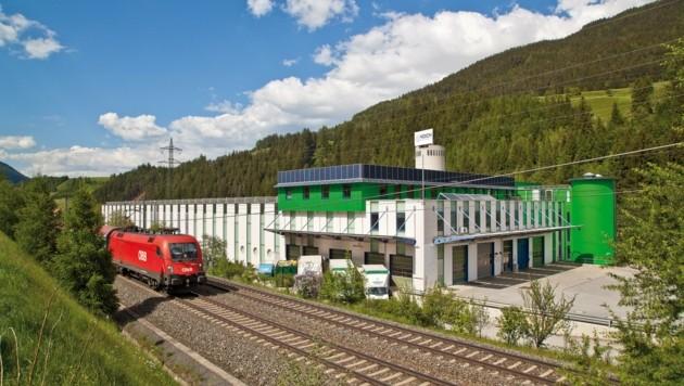 Das Firmenareal in Steinach. (Bild: Koch)