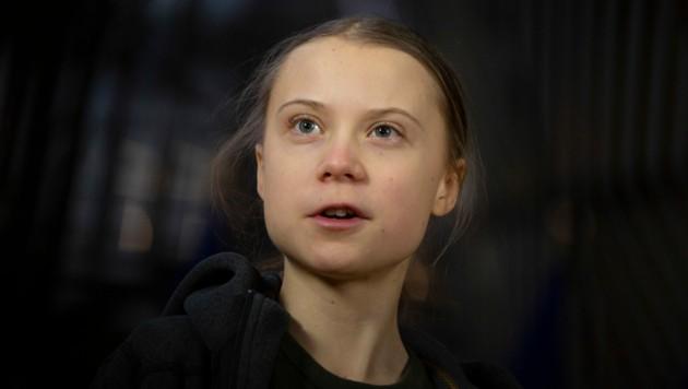 Greta Thunberg (Bild: AP)