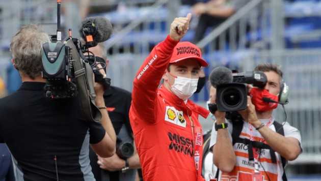 Charles Leclerc (Bild: Copyright 2021 The Associated Press. All rights reserved)