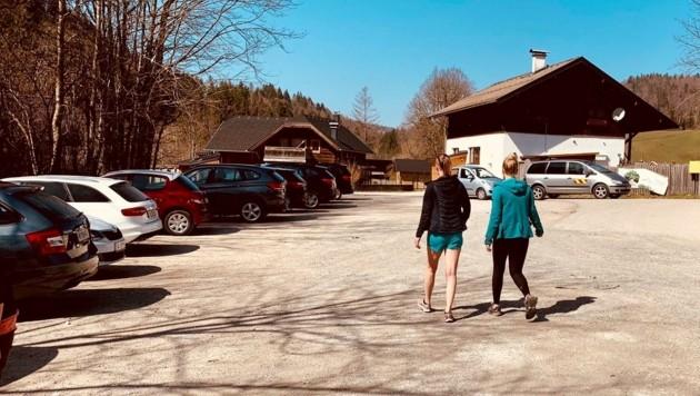 Auch der Flachgauer Hintersee ist ein viel frequentiertes Wanderziel (Bild: Tschepp Markus)