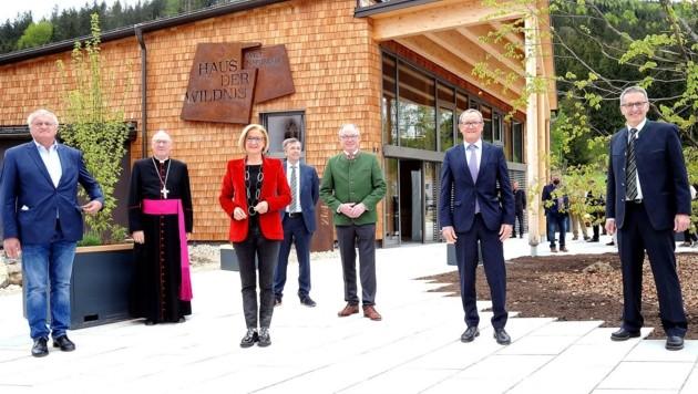 """Feierlich eröffnet wurde am Samstag das """"Haus der Wildnis"""" in Lunz am See (NÖ). (Bild: Crepaz Franz)"""