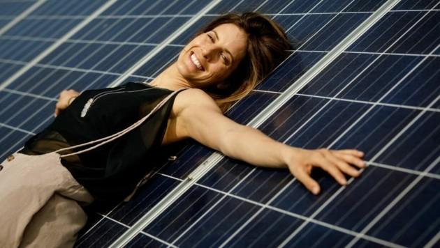 Olympiasiegerin Julia Dujmovits unterstützt die Öko-Initiativen. (Bild: Energie Burgenland)