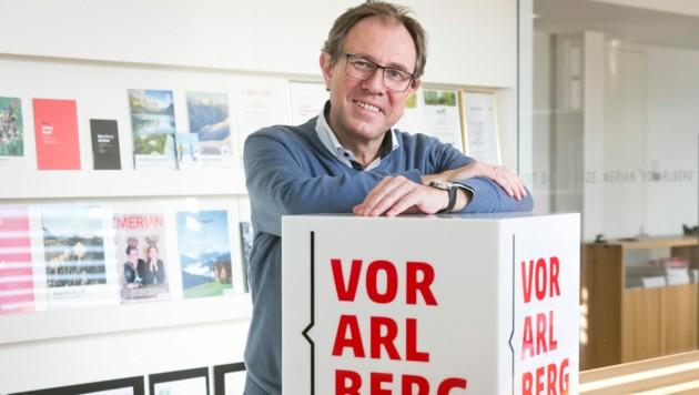Vorarlberg Tourismus-Chef Christian Schützinger. (Bild: Mathis Fotografie)