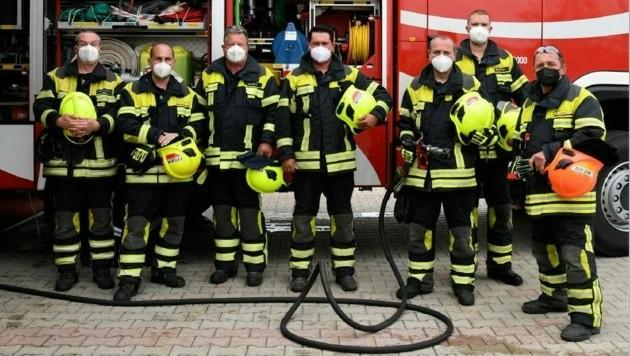 Profis im Helfen: Die Feuerwehr in Parndorf hat im Jahr 170 Einsätze aller Art zu meistern (Bild: P. Huber)