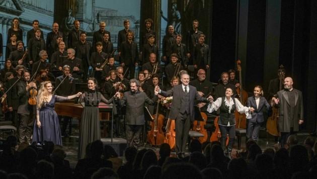 """Applaus für """"La clemenza di Tito"""" bei den Salzburger Pfingstfestspielen. (Bild: ©MarcoBorrelliwww.marcoborrelli.com)"""