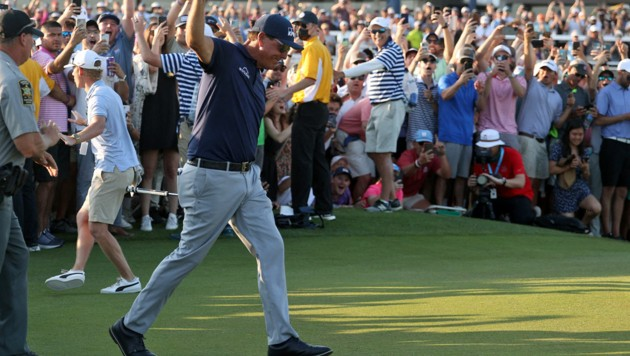 Phil Mickelson (Bild: APA/Getty Images via AFP/GETTY IMAGES/Patrick Smith)