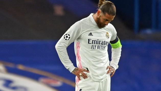 Sergio Ramos darf nicht zur EM. (Bild: APA/AFP/Glyn KIRK)