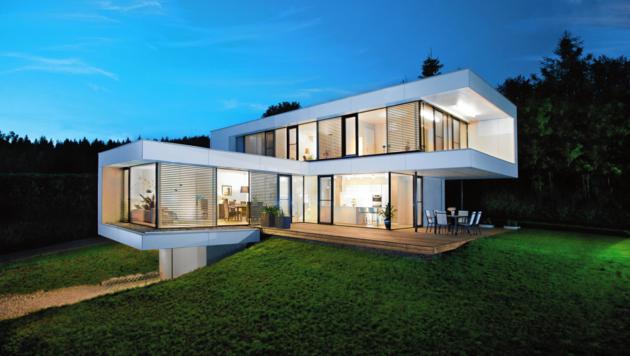 Das Premiumhaus in der Nähe des Klopeiner Sees zählt zu den schönstens Häusern Europas. (Bild: GRIFFNER)