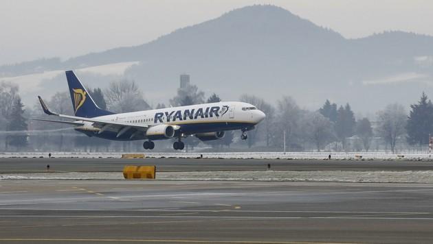 Der Salzburger Flughafen setzt nach Ryanair-Notlandung auf volle Aufklärung (Bild: MARKUS TSCHEPP)