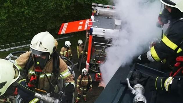 (Bild: Feuerwehr Viktring)