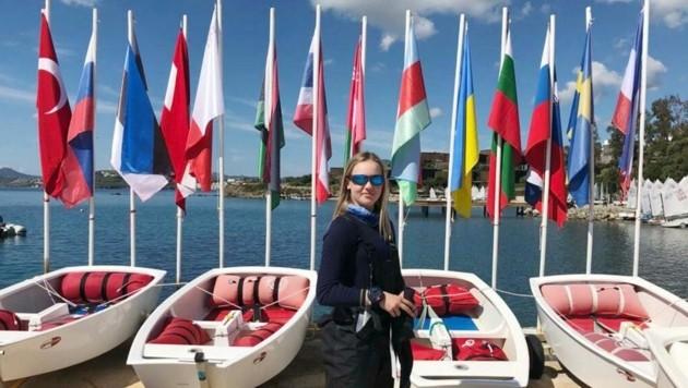 Kathi Kropfitsch vom Kärntner Yachtclub Klagenfurt. (Bild: KYCK)