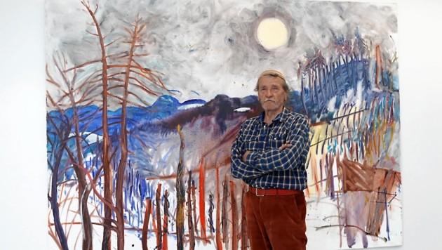 Gerald Brettschuh zeigt Arbeiten aus 47 Jahren im Grazer Steiermarkhof und Schloss St. Martin (Bild: Christian Jauschowetz)