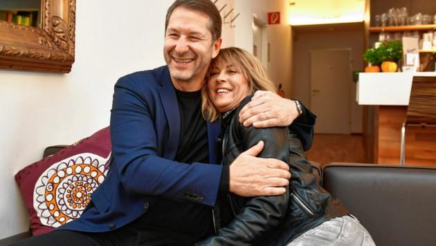 Schon seit dem 2. Mai 1986 ist Franco Foda mit Herzblatt Andrea verheiratet. (Bild: Ricardo Heintz Graz)
