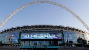 Das Wembley-Stadion in London (Bild: AP)